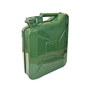 Faithfull FAIAUJERRY10 Metal Jerry Can, 10 Liter, Green