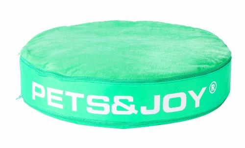 PetsJoy 4.24003 Katzenkissen Cat Bed ø 60 x 10 cm, Aqua