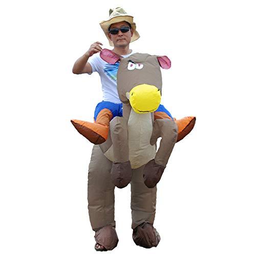 Juego Inflable del Vestido del Traje De Lujo del Caballo Y del Vaquero
