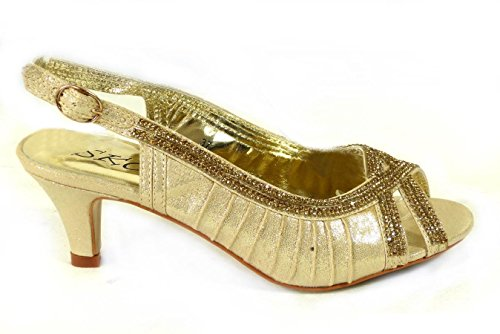 SKO'S , Mary Janes pour femme Gold (MZC012-37)