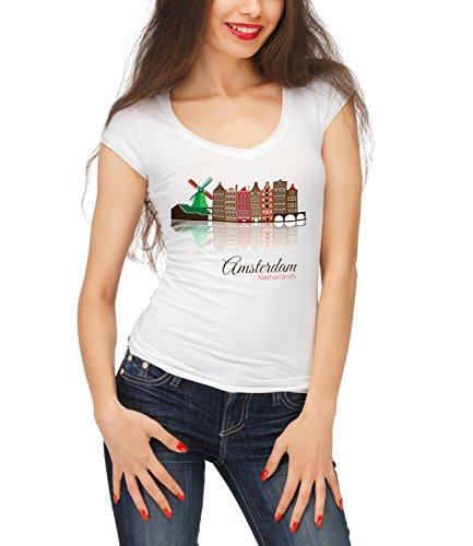 billion-group-amsterdam-skyline-city-collection-womens-megan-crew-neck-t-shirt-blanc-x-large