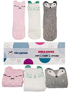 Tiny Captain Knie Hohe Socken lang Kleinkinder rutschfeste rutschfeste Beinwärmer Walker Best Geschenke