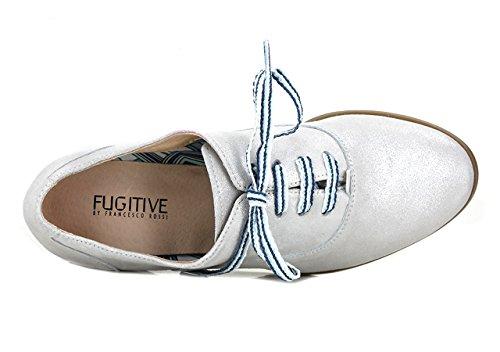 FUGITIVE HEVEA - Derbies / Richelieus - Femme Grey