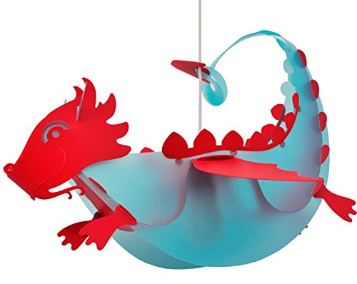 r-et-m-coudert-plafonnier-suspension-dragon-bleu-rouge
