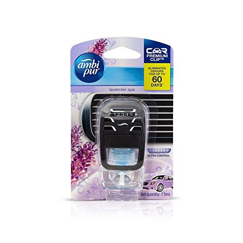 Ambi Pur Lavender Spa Liquid Car Perfume And Freshener (7.5ML)