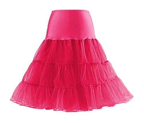 Eudolah-Womens-Vintage-Tutu-Rockabilly-Underskirt-Petticoat-Dress