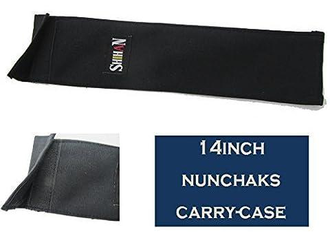 Shihan Nunchaku, der Fall für Praxis Training nunchaks Tragetasche 35,6cm lang Shihan