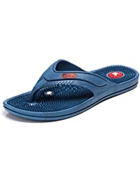 Unistar Acupressure Slippers; GH-04-Blu for Pain Relief