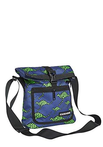 Chiemsee Bags Collection Umhängetasche, 28 cm, 4865 Dk Blue/M Green Dk Taschen
