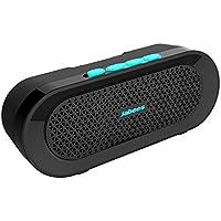 Jabees Beatbox BI Portable étanche sans fil Bluetooth stéréo Haut-parleur avec support de vélo et microphone intégré pour les appels téléphoniques