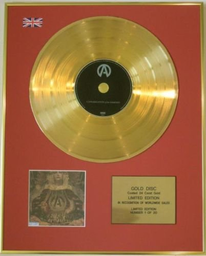 ATREYU Edtn Ltd-CD Gold Disc-CONGREGATION di THE DAMNED ""