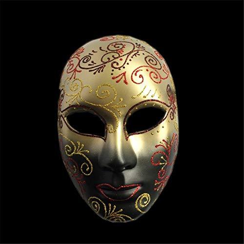 NUOKAI Karneval Venezianische Maske Full Face Handgemalte Erwachsene -