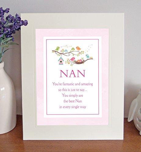 Nan Sentimental Free Standing 25,4x 20,3cm Mount