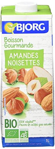 Bjorg Boisson Gourmande Amandes Noisettes Bio 1 L