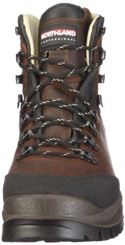 Northland Professional FREE SPIRIT LEATHER HC BOOT 02-04168, Chaussures de marche mixte adulte Marron/brun foncé