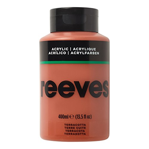 Reeves - Pintura acrílica 400 ml, Terracota