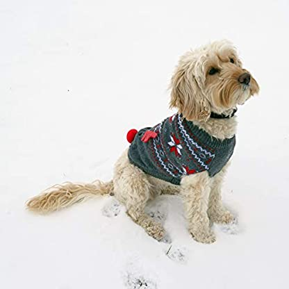 Rosewood Christmas Cupid Light Up Jumper For Dogs, Large 2