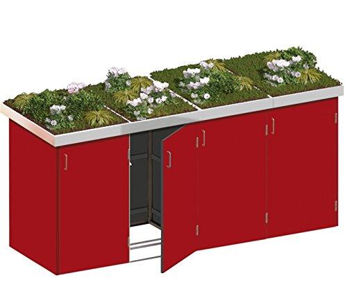 Mülltonnenbox Mülltonnenbox HPL