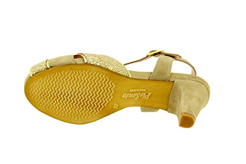Chaussure femme confort en cuir Piesanto 8258 sandale confortables amples Duna