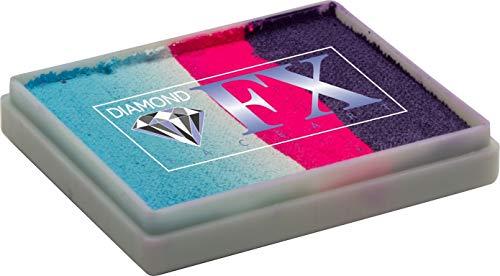 Diamond FX 50g Split Cake Face Paint ~ Double Dutch (RS50-94) by Diamond FX Split Cakes