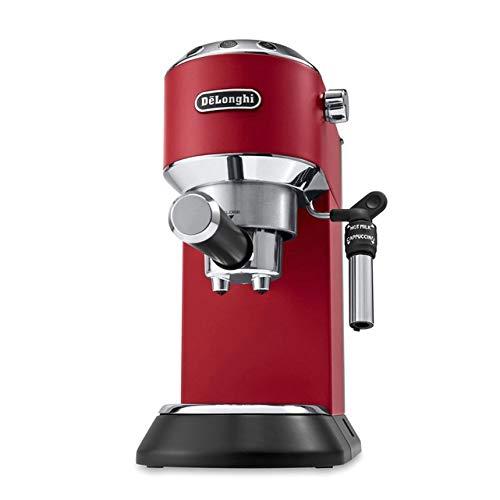 DeLonghi Dedica Style EC 695.R - Cafetière combinée, 1 l, pour café moulu, 1450 W, rouge