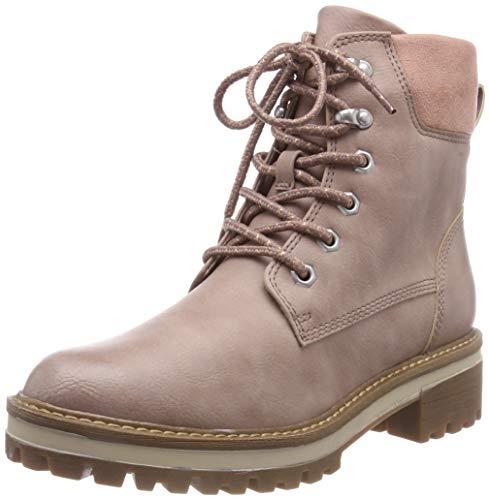 Tamaris Damen 26250-21 Combat Boots, Pink (Rose 521), 39 EU