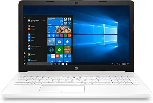 Portatile HP 15-da0038ns-i5-8250u 1.6GHz-4GB-1TB-15.6'/39.6cm-HDMI-Wi-Fi BGN/AC-BT-W10-Bianco Neve (ricondizionato certificato)