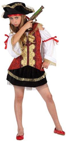 Imagen de atosa  disfraz de pirata para niña, talla m, 5 6 años 111 6365