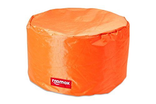 ROOMOX Tube Lounge-Sitzsack, Stoff 50 x 50 x 30 cm, Orange