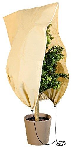 Royal Gardineer Pflanzenabdeckung: Kübelpflanzensack als Winterschutz, 100 x 80 cm, 80 g/m² (Pflanzenabdeckung Winter)