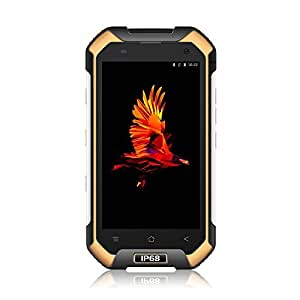 Blackview BV6000 IP68 Smartphone 4G Android 7.0 Telefono Cellulare, 4.7 pollici Gorilla Glass schermo Rugged Smartphone, 3GB RAM + 32GB ROM, batteria 4500mAh, fotocamera 13MP, NFC, Cellulari Dual SIM