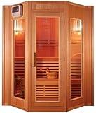 Sauna tradicional finlandes a vapor 4 personas zen ZEN4