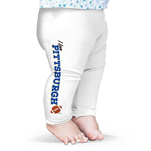 TWISTED ENVY Baby Mädchen (0-24 Monate) Leggings Gr. M, weiß
