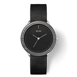 MAM Originals · Stainless Dark   Relojes de hombre   Diseño minimalista   Creados con madera sostenible y acero inoxidable reciclado de MAM Originals