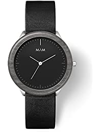 MAM Originals · Stainless Dark Maple Black | Reloj de Hombre | Diseño Minimalista | Creado