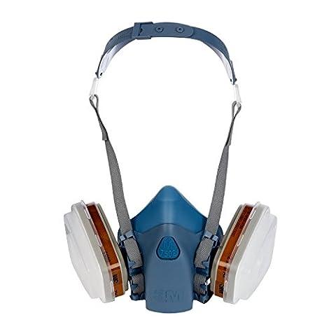 Kit demi-masque réutilisable Premium série 7500 A2P3 3M 7523M - taille moyenne
