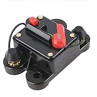 Loonbonnie 50A 60A 80A 100A 125A 150A 200A 250A Opcional Fusible de Interruptor de Circuito de Audio para automóvil en línea para protección 12V SKCB-01-100A
