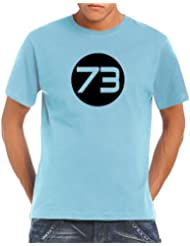 Touchlines Herren T-Shirt Sheldons Best Number 73