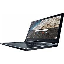 "2018 Flagship Acer Premium 15.6"" HD ComfyView Chromebook, Intel Dual-Core Celeron 1.6GHz, 4GB Memory, 16GB EMMC Flash Memory, 802.11ac, Bluetooth, Webcam, HDMI, SD Card Reader, USB 3.0, Chrome OS - B07H4CZT5Z"