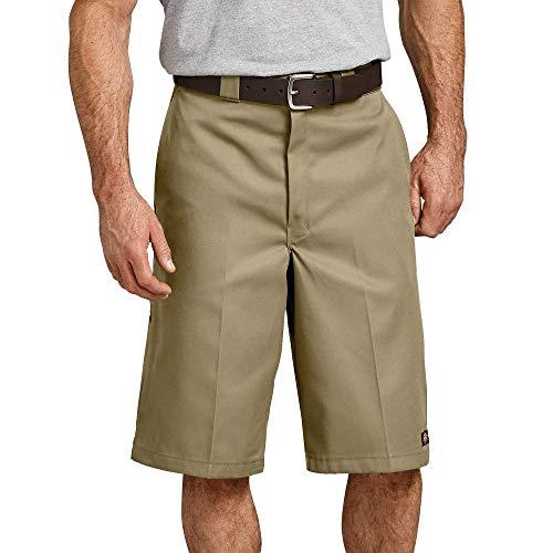 Dickies Herren Shorts 13in Mlt Pkt W/St, Khaki, W46 - Khaki-uniform Hose