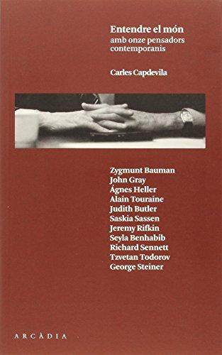 Recull d'onze entrevistes a pensadors contemporanis. Tots els intelectuals entrevistats donen arguments per interpretar la vida contemporània