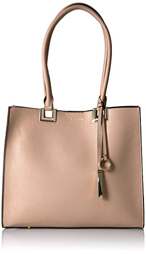 Calvin Klein N/s Novelty Smooth Boxed Tote