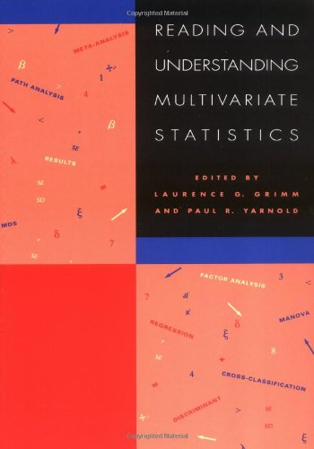 Reading & Understanding Multivariate Statistics por Grimm