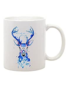 Tazza Mug in ceramica Harry Potter - always - cervo - expecto patronum