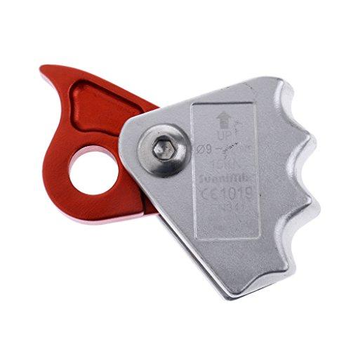 perfk Dispositivo de Protección Contra Caídas Cuerda de Escalada de Árboles Dispositivo de Aseguramiento de Frenos de Cuerda de 9-12 mm