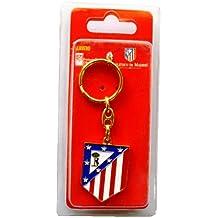 Atlético de Madrid - Llavero escudo metal, 9 cm (Seva 5001028)