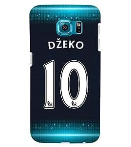 PRINTVISA Football Dzeko Case Cover for Samsung Galaxy S6