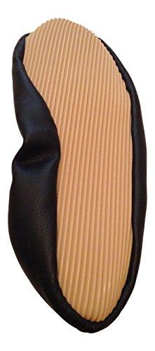 Voltigierschuhe Leder schwarz (schwarz, 38)