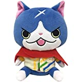 Yokai Watch Stuffed Toy Plush Doll FUYU NYAN FUYUNYAN wearing uniform of Yorozu mart Japan