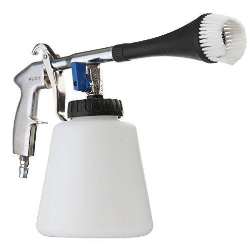 GOZAR Luft-Impuls-Tornado-Gewehr-Oberflächenreinigungs-Waschschaum-Werkzeug Mit Bürste